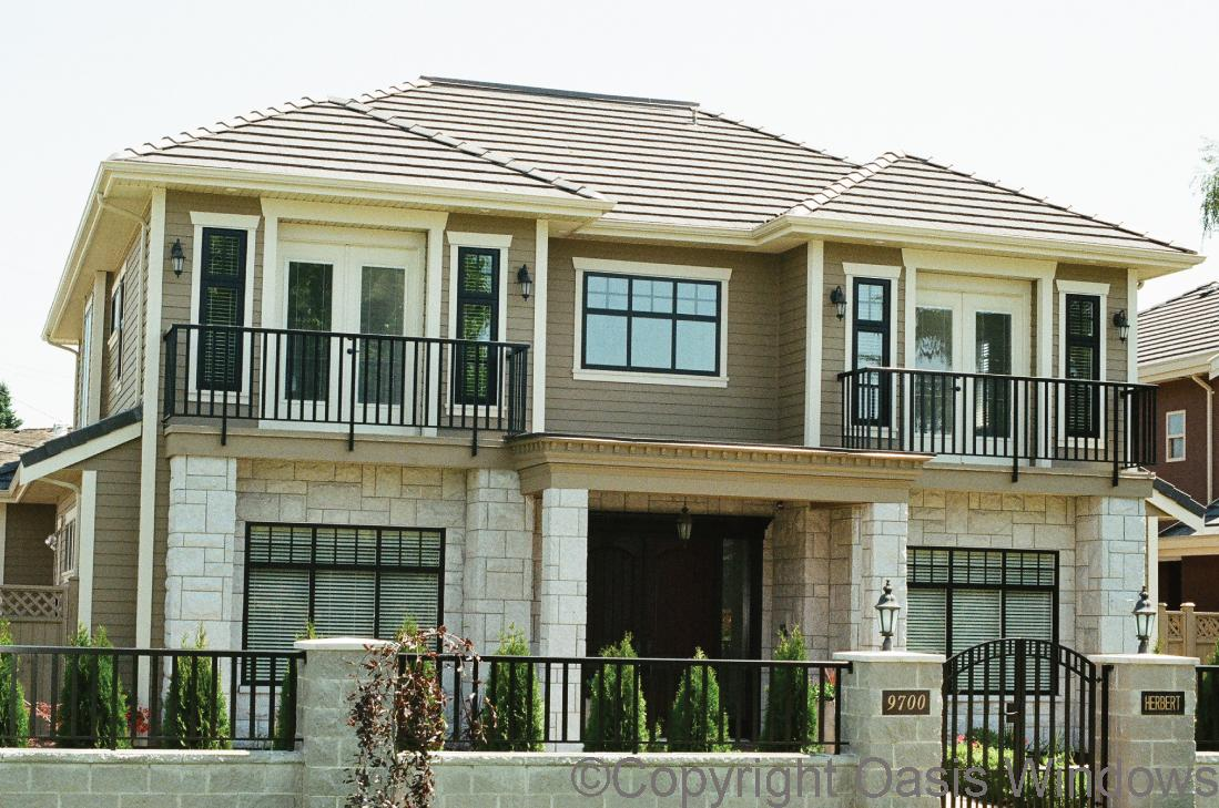 300 slider black windows for House with windows